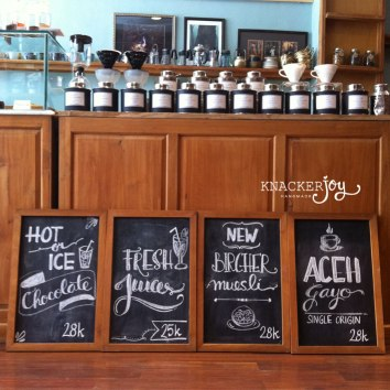Custom Chalkboard Doodling for Your Space