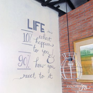 Wall Doodle for Brucha Kitchen